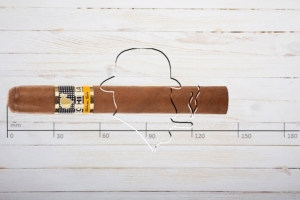 Cohiba Siglo 4, Corona Gorda, Ring 46, Länge: 143 mm