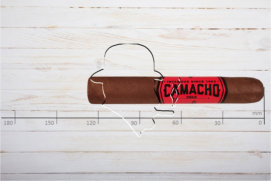 Camacho Corojo Robusto, Ring 50, Länge: 127 mm