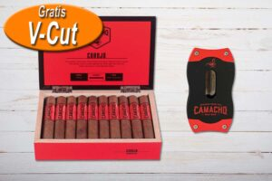 Camacho Corojo Robusto V-Cut Package