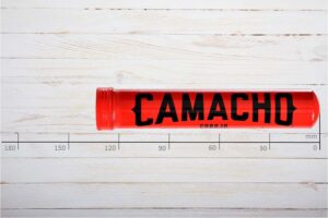 Camacho rot Corojo Robusto Tubos / Alutube, Ring 50, Länge: 127 mm