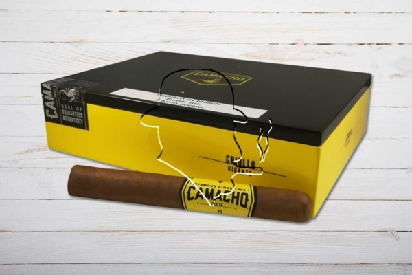 Camacho Criollo Gigante, Ring 54, Länge: 165 mm, Box 20er