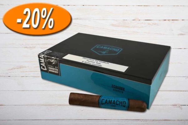 Camacho Ecuador Robusto, Ring 50, Länge: 127 mm, Box 20er