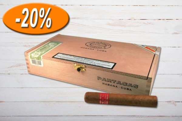 Partagas Serie D No.4, Robusto, Ring 50, Länge: 124 mm, Box 25er, Aktion