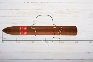 Partagas Serie P No.2, Piramide, Ring 50, Länge: 155 mm