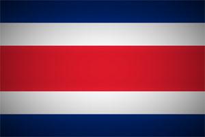 Costa Rica Fahne