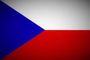 Tschechien Fahne