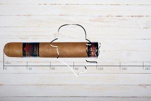Cumpay Robusto, Ring 50, Länge: 121 mm