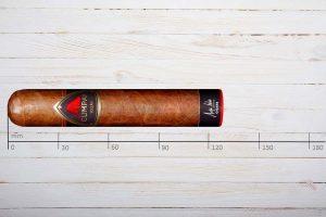 Cumpay Zigarren Volcan, Double Robusto, Ring 58, Länge: 127 mm