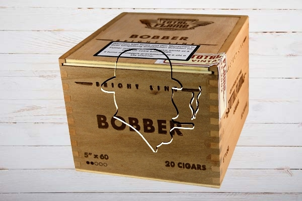 Total Flame Bright Line Bobber, Super Robusto, Ring 60, Länge 127 mm, Box 20er