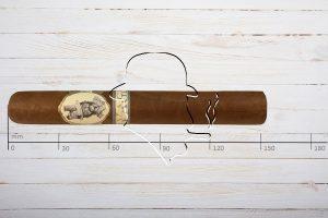 Caldwell Savages Toro, Ring 54, Länge 152 mm
