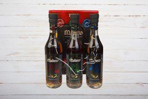 Malteco Geschenkset, Rum, Guatemala+Panama, 10-15-20-jährig