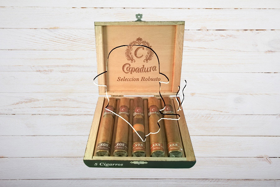 Capadura Seleccion Robusto, Ring 50, Länge: 127 mm