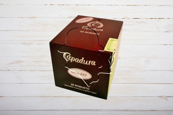 Capadura Serie 888 Robusto, 25er Box