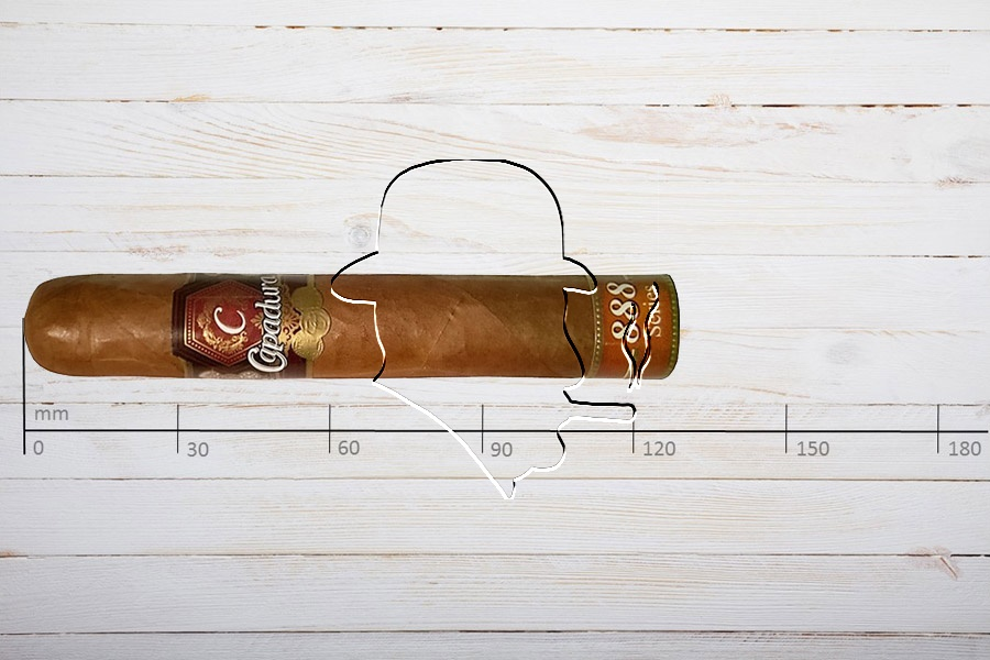 Capadura Serie 888, Robusto, Ring 50, Länge: 127 mm