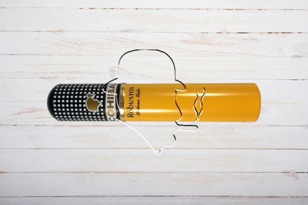 Cohiba Robusto, Ring 50, Länge: 124 mm, Tubo