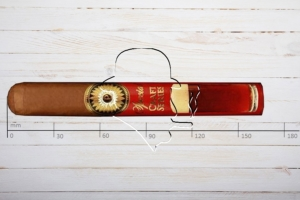 Perdomo Special Craft Series Sun Grown Amber, Epicure, Ring 54, Länge: 165mm
