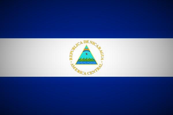 Fahne Nicaragua