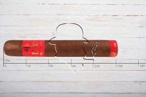 Brun del Re 1787 Libertad Supremo, Ring 60, Länge: 152 mm
