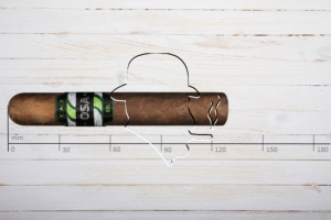 CAO OSA Sol Lot 50, Robusto. Ring 50, Länge: 127 mm