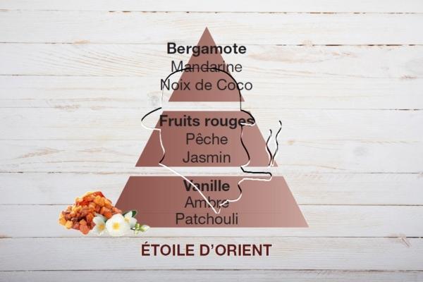 Lampe Berger Duftpyramide, Parfum de Maison, Étoile d'Orient, Oriental Star