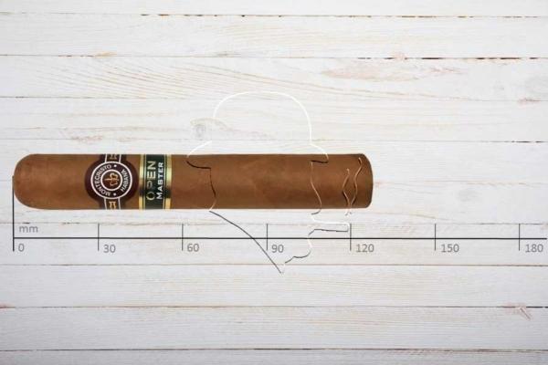 Montecristo Open Master, Robusto, Ring 50, Länge 124 mm