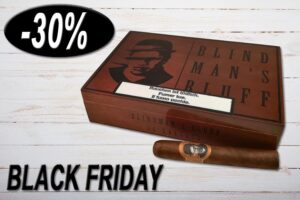 Caldwell Blind Man's Bluff, Robusto, Ring 50, Länge 127 mm, Box, 30% Rabatt, Black Friday Sale