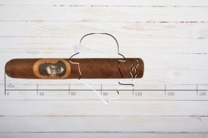 Caldwell Blind Man's Bluff, Robusto, Ring 50, Länge 127 mm