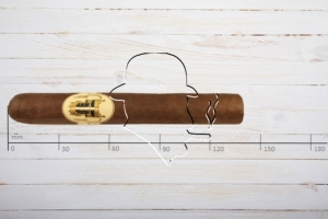 Caldwell The King is Dead Premier. Robusto, Ring 50, Länge 140 mm