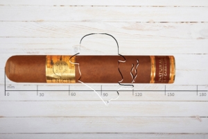E.P. Carrillo Inch Series Natural No.64. Super Gordo, Ring 64, Länge 156 mm