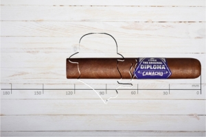 Camacho Diploma Special Robusto, Ring 54, Länge: 127 mm