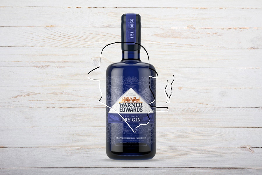 Warner Edwards Harrington Dry Gin 70cl