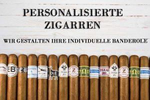 Ihre Werbung auf Zigarren, personalisierte Zigarren, eigene Banderolen / Zigarrenringe