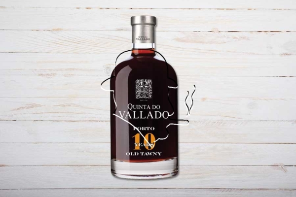 Quinta do Vallado 10-years Old Tawny Port, 50cl