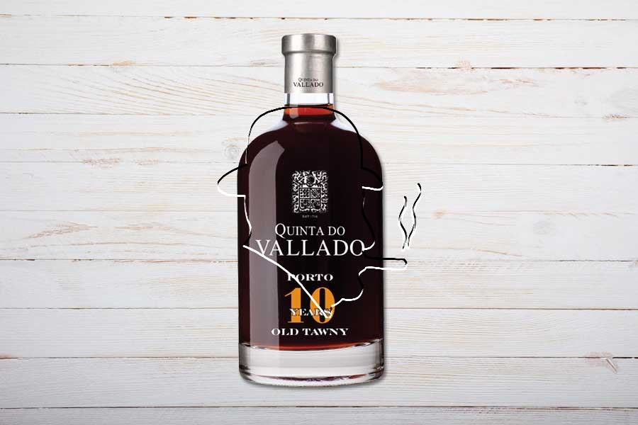 Quinta do Vallado Tawny Port, 10-jährig, 50cl