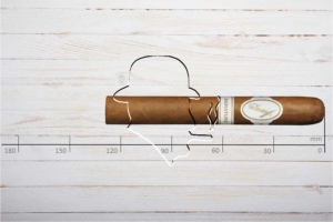 Davidoff Signature 2000, Corona, Ring 43, Länge: 129 mm