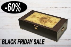 Black Friday Sale Aktion, Humidor La Aurora 115th, Einziger in der Schweiz, 60% Rabatt