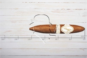 Davidoff Aniversario Short Perfecto, Ring 52, Länge: 124 mm