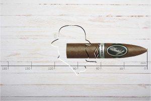 Davidoff Escurio Gran Torpedo, Ring 56, Länge: 102 mm