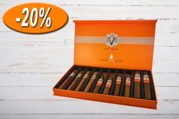 AVO Cigars Sampler, Box 10er