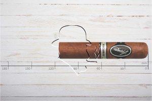 Davidoff Escurio Robusto, Ring 54, Länge: 114 mm