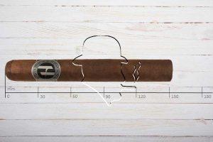Hedonista Serie E, Gran Toro, Ring 54, Länge: 152 mm