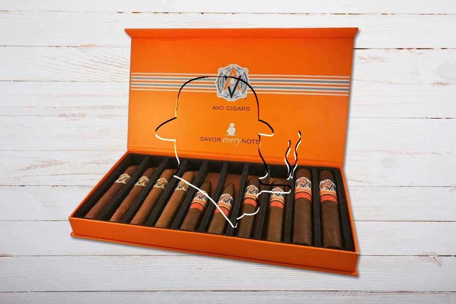 AVO Cigars Sampler, Box 10er