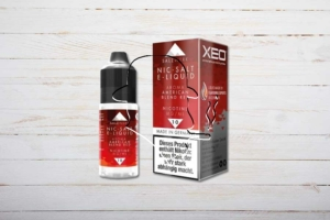 XEO Nic-Salt E-Liquid, American Blend Red, 10ml