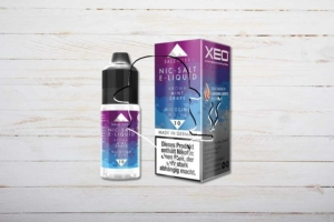 XEO Nic-Salt E-Liquid, Mint Grape, 10ml
