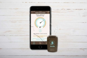 Boveda Smart Sensor Butler, digitales Hygrometer/Thermometer, Bluetooth