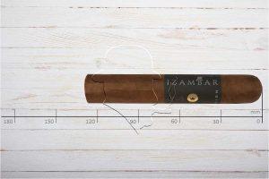 Izambar Sovereign. Robusto, Ring 56, Länge: 127 mm