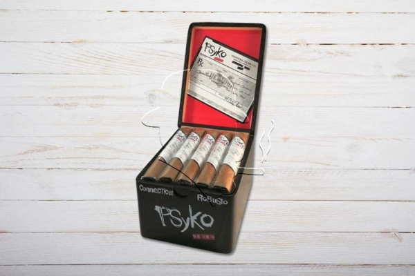 Psyko 7 Connecticut Robusto, Ring 50, Länge: 140 mm, Box 20er