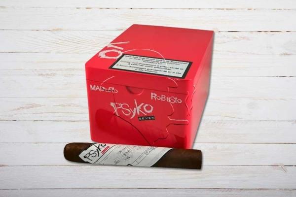 Psyko 7 Maduro Robusto, Ring 50, Länge: 140 mm, Box 20er