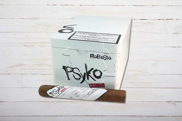 Psyko 7 Natural Robusto, Ring 50, Länge: 140 mm, Box 20er