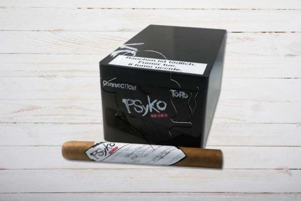Psyko 7 Connecticut Toro, Ring 48, Länge: 159 mm, Box 20er